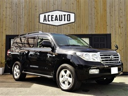トヨタ ランドクルーザー200 4.6 AX G 60th ブラックレザーセレクション 4WD サンルーフ クルコン レザーシート