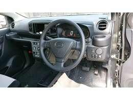 【インパネ】各操作スイッチも使いやすい位置で運転しやすいですよ♪