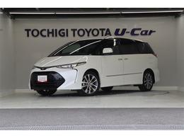 トヨタ エスティマ 2.4 アエラス プレミアム 衝突被害軽減 純正9インチナビ LED