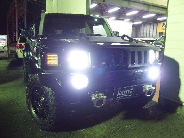 純白HIDヘッドライト&LEDフォグライトに交換済みです