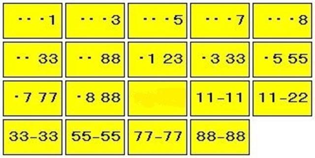 Aプラン画像:ご契約時にご希望の数字をお伝え下さい。抽選対象番号もございます。※画像はイメージになります。