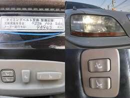 タイベル交換済み HID LEDポジションライト パワーシート