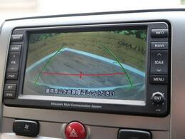 バックカメラを装備。駐車が苦手な方でも安心して運転して頂ける仕様となっております。