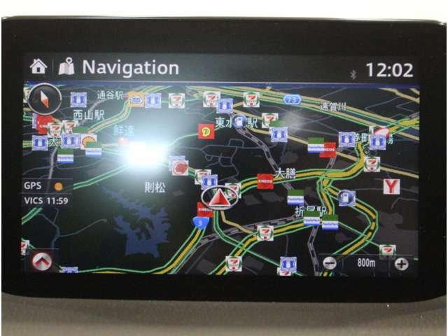 【純正メモリーナビ】遠方へのドライブも安心ですね! フルセグTV/DVD/CD/Bluetooth/全周囲カメラ