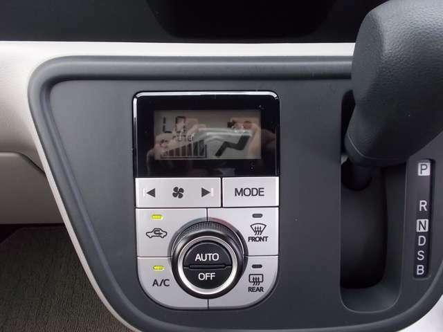 オートエアコン付き★ 一度温度を設定すれば、自動的に過ごし易い温度に調整してくれますよ(^^) 車内をいつでも快適空間に♪