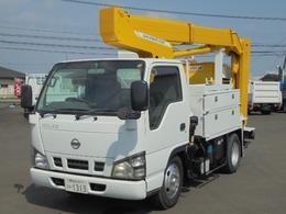 日産 アトラス 4.8ディーゼル 9.9M高所作業車