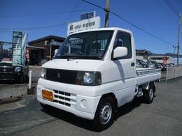 三菱 ミニキャブトラック 660 VX-SE エアコン付 4WD パワステ/スタッドレスタイヤ
