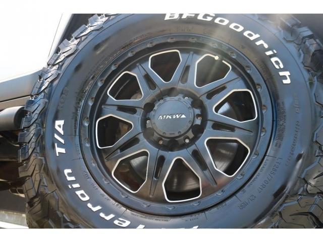 MKW17インチAWに新品でBFグッドリッチ285ATタイヤをインストール!
