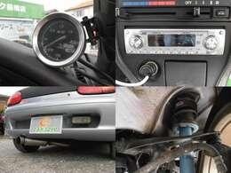ブーストメーター MDデッキ 社外マフラー RS-Rダウンサス