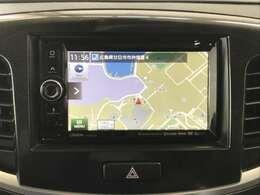 こちらのお車のナビはCD/DVD再生・ワンセグTVの視聴・Bluetooth接続ができます!