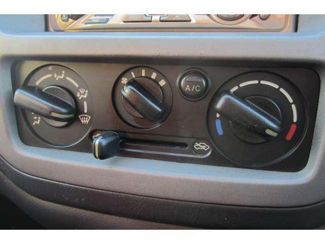 エアコンも分かりやすいデザインですので操作しやすいです!