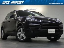 ポルシェ カイエン S ティプトロニックS 4WD 正規D車 黒革 全席Sヒーター HDDナビ PAS