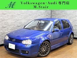 フォルクスワーゲン ゴルフ R32 4WD 6MT 狭角V6 COXマフラー MOMO