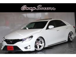 トヨタ マークX 2.5 250G Sパッケージ 19AW車高調カラーアイOPテールHDDナビ