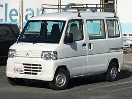 三菱 ミニキャブバン 660 CD ハイルーフ エアコン パワステ Wエアバック ラジオ