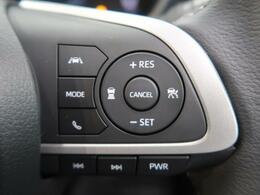 ★【アダプティブクルーズコントロール】あらかじめ設定した車速内で自動的に加減速!先行車との適切な車間距離を維持しながら追従走行し、運転負荷を軽減します♪