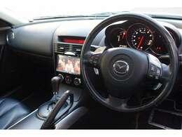 シフトスイッチ付き革巻きステアリング オートエアコン Wエアバック ABS DSC スーパーLSD イモビライザー CN-HDS700TD 【35J】ストーミーブルーマイカ