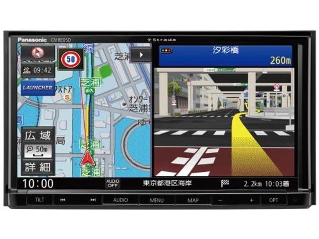 Bプラン画像:フルセグ/VICS WIDE/SD/CD/DVD/USB/Bluetooth 7V型