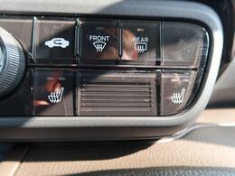 ☆シートヒーター(運転席・助手席)☆冬場に重宝します♪エアコンよりも素早く、体を芯まで温めてくれる嬉しい装備。