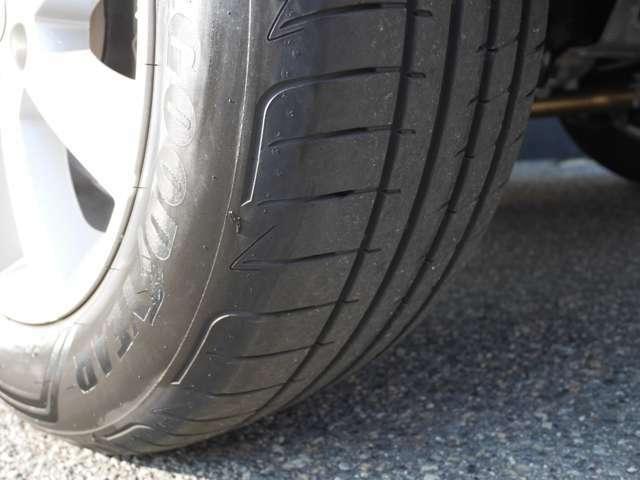タイヤの溝もご確認下さい!
