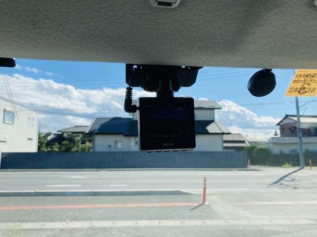 もしもの時に安心できるドライブレコーダーついてます!
