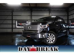 米国トヨタ タンドラ クルーマックス リミテッド 5.7 V8 4WD オートチェックリポート 黒革シート 4WD
