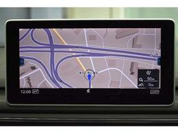 MMIナビゲーション『高解像度カラーディスプレイに、Bluetooth(R)接続によるハンズフリー通話機能を搭載しています。』