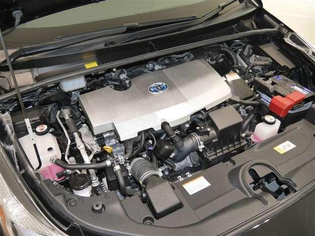 1800ccハイブリッドエンジン☆エンジンルームもしっかり洗浄!