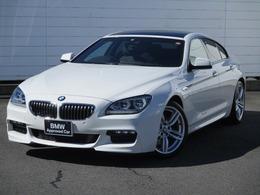 BMW 6シリーズグランクーペ 640i Mスポーツパッケージ 禁煙1オーナーベンチレーションシート19AW
