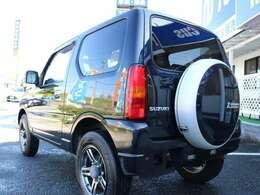 クロスアドベンチャーロゴ入り背面タイヤハードカバー♪外装に目立つ凹み等ご在ません♪