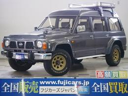 日産 サファリ 4.2 エクストラハイルーフグランロード ディーゼルターボ 4WD 1ナンバー登録車 ルーフラック