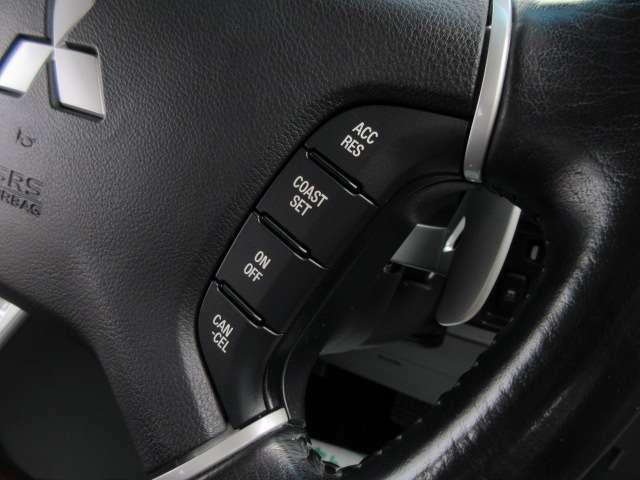 クルーズコントロールシステム付き♪ 高速走行もより快適にドライブができますね♪ 長距離走行でも安心です♪