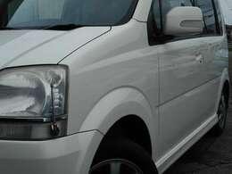 キーレス・Wエアバッグ・ABS・CDMD・エアコン良好リフレッシュ施工・純正フルエアロ・専用14アルミ・ウィンカー付電動格納ミラー・禁煙車・点検整備部品代は本体に含みます