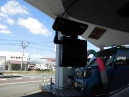ドライバーの万が一の際に役立つ、ドライブレコーダーもついております!