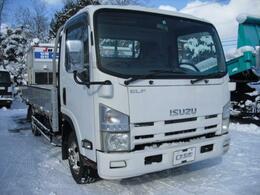 いすゞ エルフ ワイドロング 2t積 4WD アルミブロックアオリ