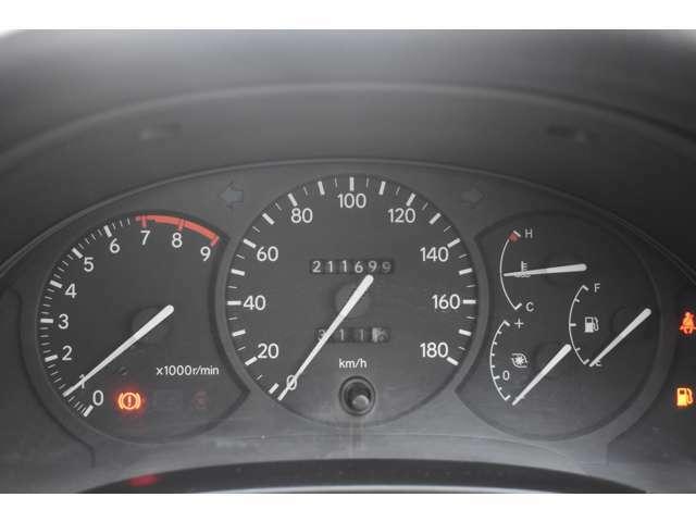 走行距離211699キロです。ワンオーナー車。タイミングベルト交換済み。走行管理システムチェック済みです。ご安心ください。