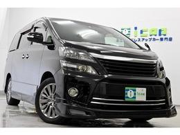 トヨタ ヴェルファイア 3.5 Z ゴールデンアイズ 4WD アドミフルエアロ 半革 HDDナビ 専用18AW