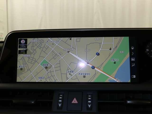 見やすい12.3インチワイド画面を搭載したナビゲーションシステム