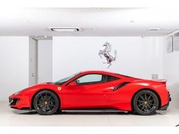 フェラーリ 488ピスタ F1 DCT 延長保証1年付帯20インチカーボンホイール