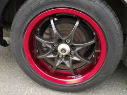 paypay支払い可能!ポイントバックキャンペーン実施中!!VOLK15インチアルミに新品タイヤ付!