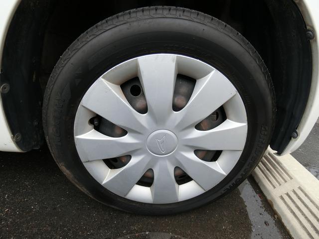タイヤの山はあまりないようです。