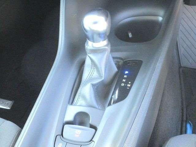 CVTのオートマチックが低燃費に貢献