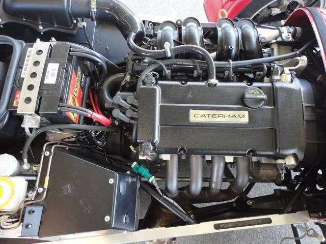 信頼性の高い、FORD製1.6シグマエンジンを搭載。