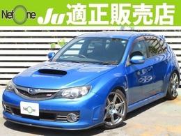 スバル インプレッサハッチバックSTI 2.5 WRX Aライン 4WD 外ナビBモニ革シート車高調マフラー18AW