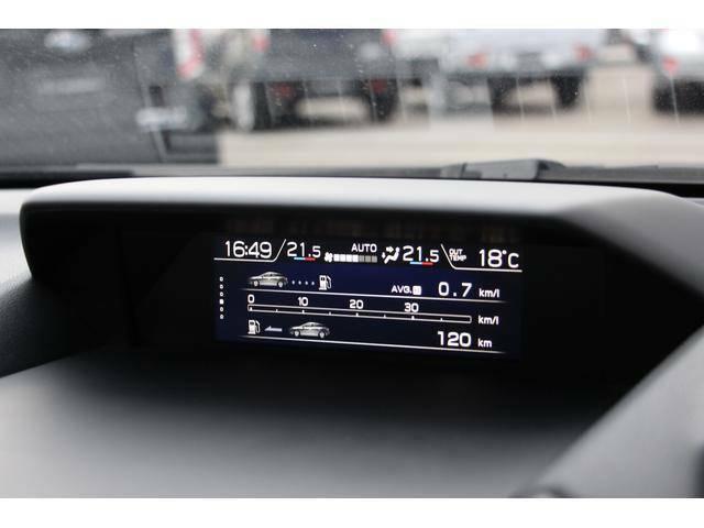車両の様々な情報を大型液晶モニターで一活レイアウト♪