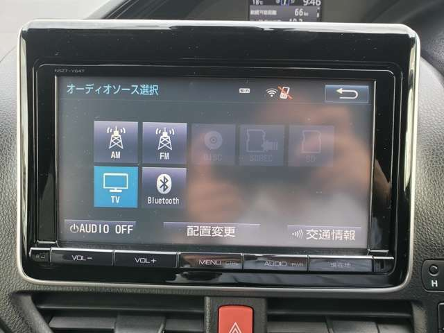 再生可能オーディオ一覧。Bluetooth機能もございますので、携帯電話の接続も可能です。