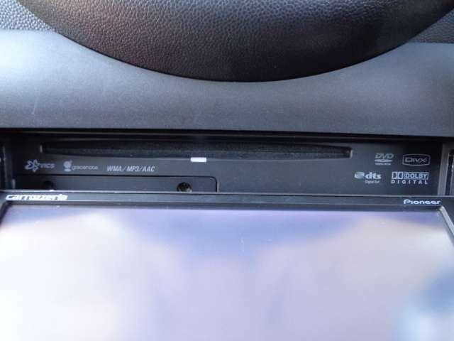 ★DVD再生機能付!遠方へのドライブも快適にお楽しみください!