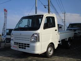 スズキ キャリイ 660 KCエアコン・パワステ スズキ セーフティサポート 装着車 3方開 4WD 5速MT
