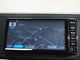 ワンセグ対応のメモリーナビ、CD再生可能、Bluetooth接続可能