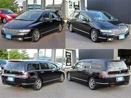 【外装】人気のブラック!!かっこいいお車ですが、7人乗れます!後期モデルでこのプライス!細かい所をカスタムしてあります!お買い得プライスでいかがでしょうか?